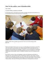 Wila Mosaik Sekundarschule.pdf - Forum Bildung