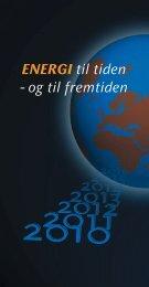 ENERGI til tiden - og til fremtiden