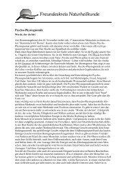 Pressemitteilung Treffen Psycho-Physiognomik - Freundeskreis ...
