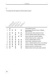 Didaktika tělesné výchovy - Fakulta tělesné výchovy a sportu