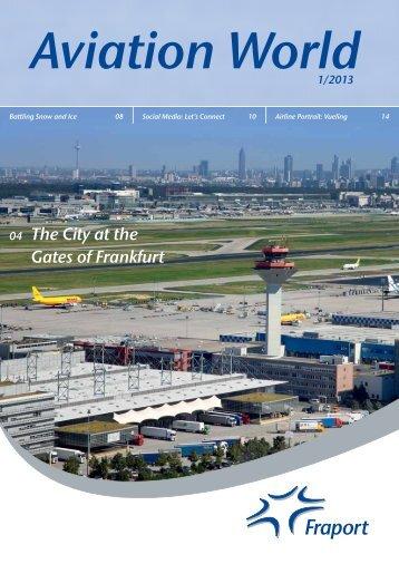 Aviation World 1/2013 - Fraport AG