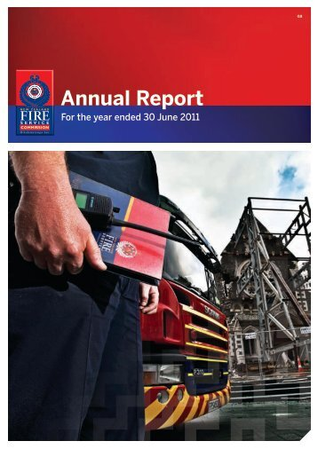 NZFSC Annual Report 2011 - New Zealand Fire Service