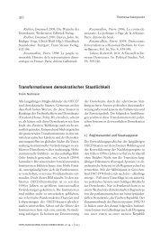 Transformationen demokratischer Staatlichkeit - Forschungsjournal ...