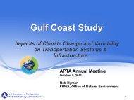 Gulf Coast Study - Federal Transit Administration - U.S. Department ...
