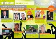 Klicken Sie hier für den Flyer Success Day Hanau - FLP-News