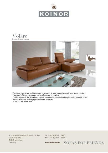 Koinor Volare-Broschüre als PDF-Download