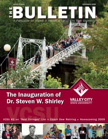 The Inauguration of Dr. Steven W. Shirley - Valley City State University