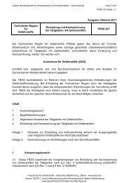 TRGS 201 - Gewerbeaufsicht - Baden-Württemberg
