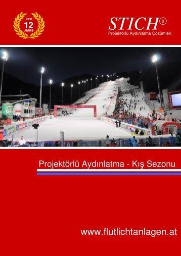 STICH® - Katalog Flutlicht Winter türkisch 1 - Stich - Flutlichtanlagen