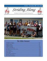 Striding Along - Gate City Striders