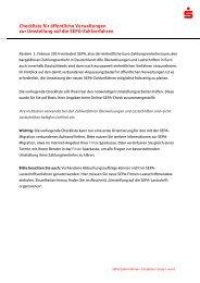 Checkliste fuer oeffentliche Verwaltungen zur ... - Förde Sparkasse
