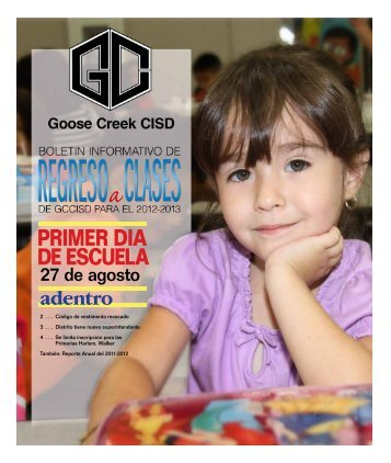 adentro - Goose Creek Consolidated Independent School District