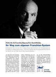 Download des Artikels (PDF) »Weg zum Franchise-System