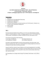 Protokoll ausserordentlicher Kreistag 2012 - FLVW Kreis Paderborn