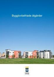 Bygglovbefriade åtgärder - Gävle kommun