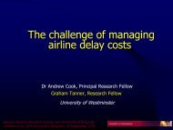 Presentation - GARS - German Aviation Research Society