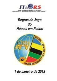 Regras de Jogo do Hóquei em Patins (FPP)