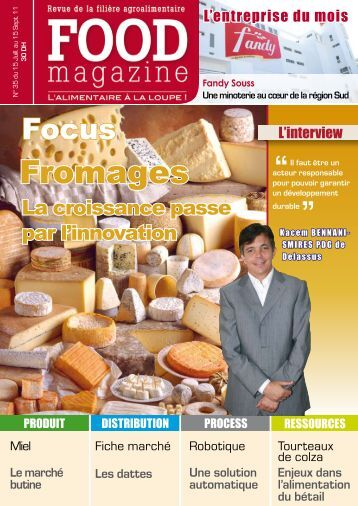 Fromages - FOOD MAGAZINE