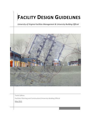 Facility Design Guidelines - Facilities Management - University of ...
