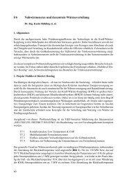 I/6 Nahwärmenetze und dezentrale Wärmeverteilung - FITR