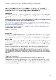 Klausur im Förderschwerpunkt Lernen (Modul EL 3 ... - TU Dortmund