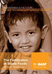 Download brochure - Food Fortification