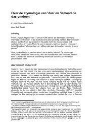 'das' en - Fryske Akademy