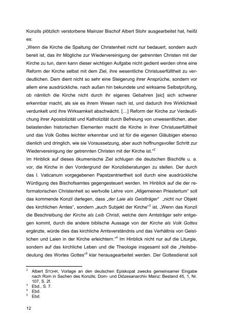 II. Vaticanum – Fünfzig Jahre danach - FreiDok