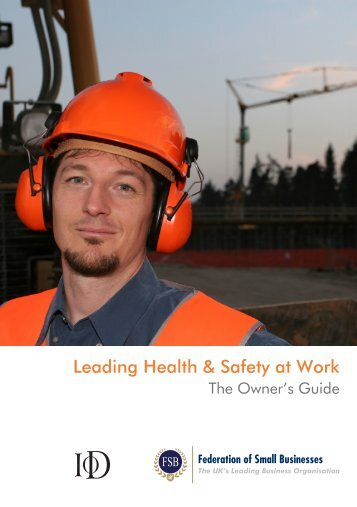 Leading Health & Safety at Work - Federation of Small Businesses