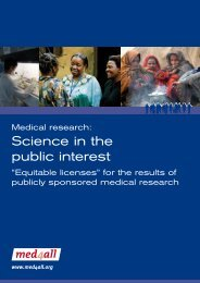 Medical research: Science in the public interest - med4all