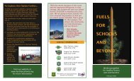 Fuels for Schools and Beyond Brochure