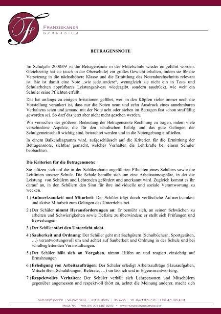 Druckversion [PDF 57 KB] - Franziskanergymnasium Bozen