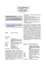 8 Infobrief - August 2010 - Forum-Bioenergetik eV