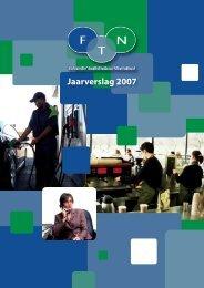 Jaarverslag 2007 - FTN