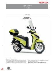 New Model SH125i - Honda