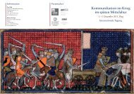 Kommunikation im Krieg im späten Mittelalter