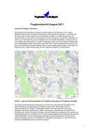 Fluglärmbericht August 2011 - Stuttgart