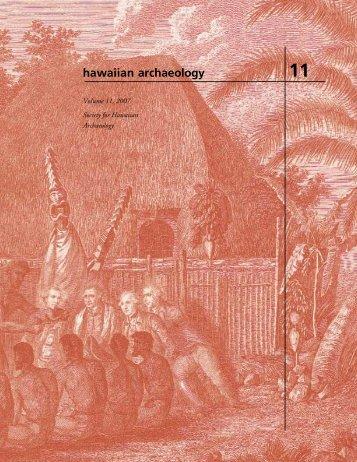 hawaiian archaeology - Foothill College