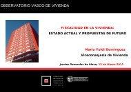 Fiscalidad en la vivienda - Garraioak - Euskadi.net