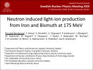 Neutron induced light-ion production from Iron and Bismuth at 175 ...