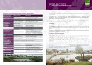 PSP Note - Integrated Water Management - Clearwater