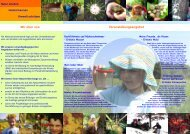 Flyer für Kindergärten - Bund Naturschutz in Bayern eV