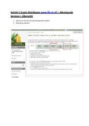 Schritt 1 (Login Distributor www.flp-at.at) – Menüpunkt ... - FLP-News