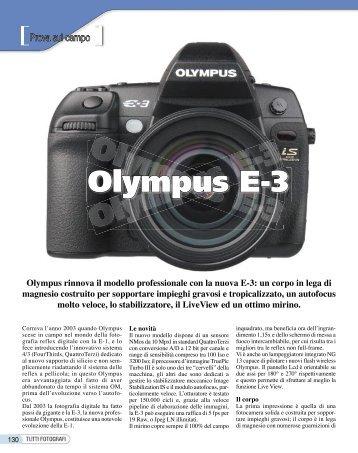 Olympus E-3 - Fotografia.it
