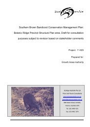 Southern Brown Bandicoot Conservation Management Plan ...