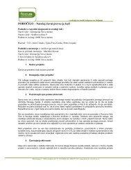 poročilo projekta - Focus