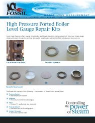 Ported Gauge Repair Kit - Fossil Power Systems Inc.