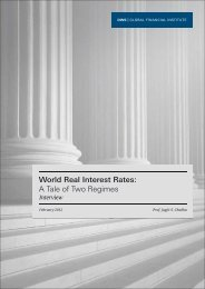 World Real Interest Rates: A Tale of Two Regimes