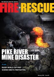 Download PDF: Fire+Rescue - Issue 66 - New Zealand Fire Service