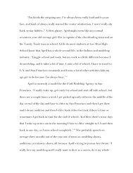 Chapter 2: April Eaton